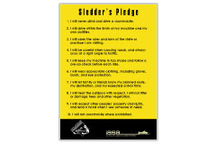 Sledder's Pledge Card