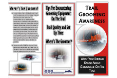 Trail Grooming Awareness brochure