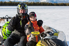 Snowmobiler safety tools