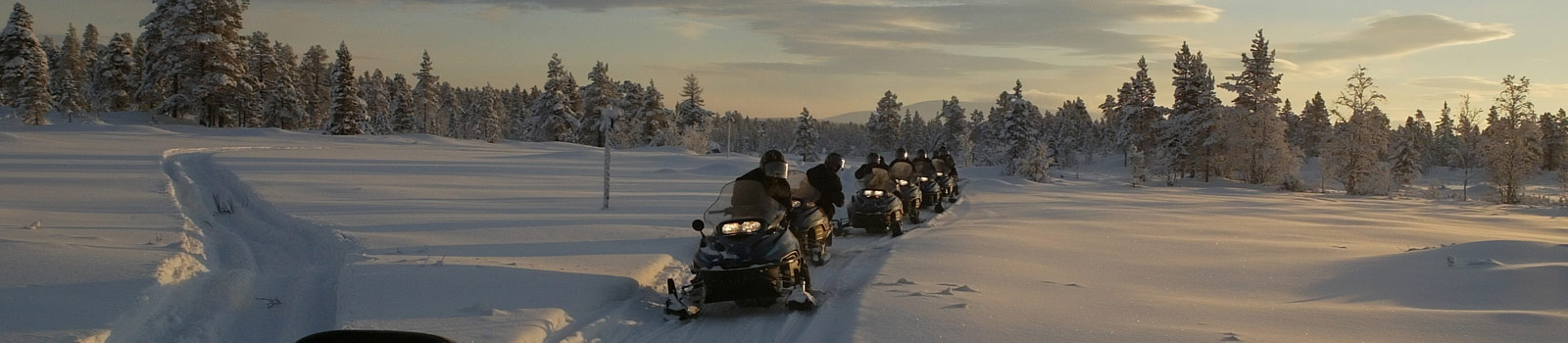 Snowmobiling on public land