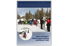 Facts and Myths About Snowmobiling and Winter Trails publication