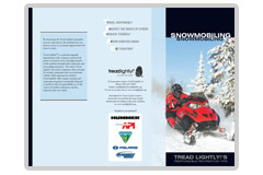 Tips for Responsible Snowmobiling publication