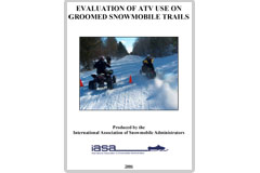'Evaluation of ATV Use on Groomed Snowmobile Trails' report
