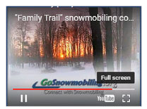 GoSnowmobiling.org TV commercials