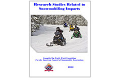 Research Studies Related to Snowmobiling Impacts