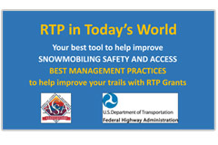 Best Management Practices to help improve your trails with RTP Grants